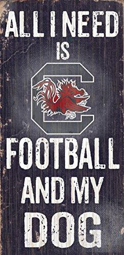 Fan Creations University of South Carolina Football and My Dog Sign, - Carolina Mall South Outlet