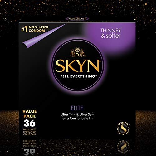 LifeStyles SKYN Elite Condoms, 36 Count
