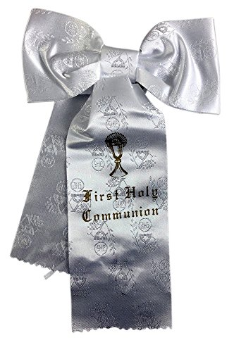 Boys My First Communion Brocade Bow Armband