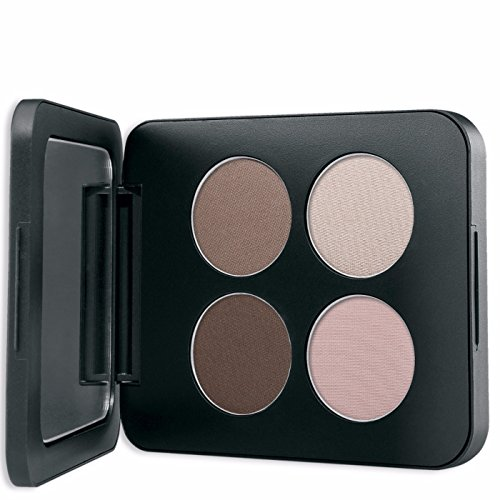 Youngblood Mineral Cosmetics Natural Pressed Mineral Quad Eyeshadow - Shanghai Nights - 4 g / 14 -