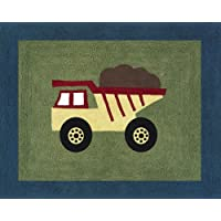 Sweet Jojo Designs Construction Zone Accent Floor Rug