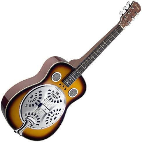 Stagg SR607 SQ - SB Sound Resonator Guitar - Squareneck