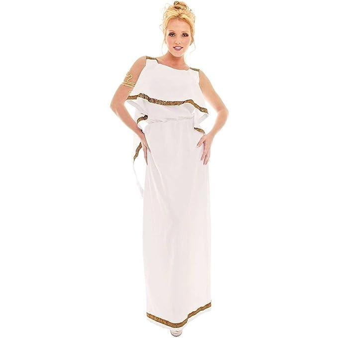 Amazon.com: Athena disfraz Diosa Talla de Adulto 4 – 6 de ...