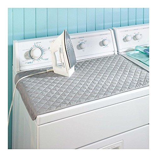 Magnetic Ironing Mat Laundry Pad Washer Dryer Cover Board Heat Resistant Blanket from Unknown