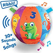 Move2Play Interactive Animal Sounds Crawl Ball Toy for Babies and Toddlers, Baby Ball for Ages 6 Months to 1,