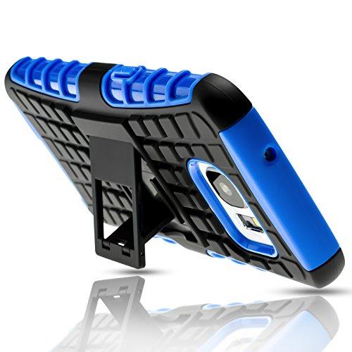 Mobilefox Safe-Grip Outdoor Case Schutzhülle 2in1 TPU Apple iPhone 6/6S Plus Grün