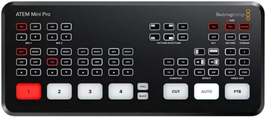 Atem Mini Live Production Mixer Amazon Co Uk Electronics