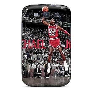 TrevorBahri Samsung Galaxy S3 Excellent Hard Phone Cover Custom High-definition Michael Jordan Dunks From The Free Throw Line Image [lBK3665yBgj]