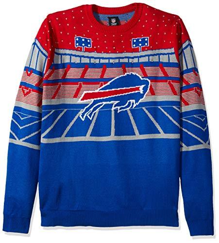 FOCO NFL Buffalo Bills Mens Light Up Bluetooth Speaker Sweaterlight Up  Bluetooth Speaker Sweater d88c09051