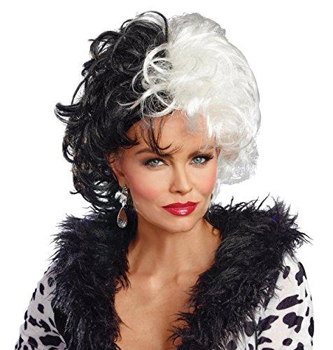 Dalmatian Diva Wig Costume Accessory -