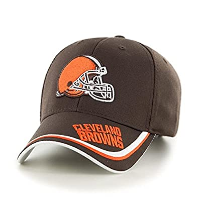 Mens Money Maker Adjustable Baseball Hat Cap-Cleveland Browns by Campus Lifestyle