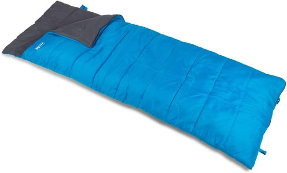 Kampa Annecy Double Two Season Rectangular Sleeping Bag Red