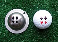 Tin Cup Golf Ball Custom Marker Alignment Tool