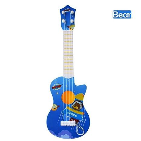 Beatie Juguete De Guitarra Ukelele Musical Para Niños