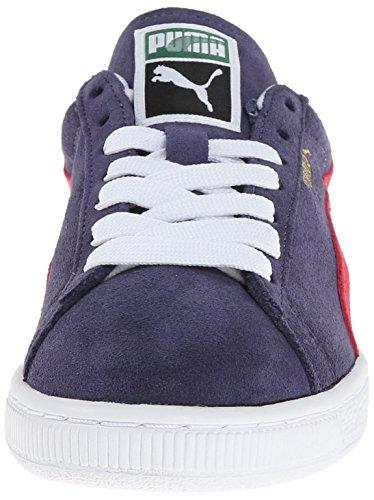 Puma Kvinna Mocka Klassiska Sneaker Krona Blå