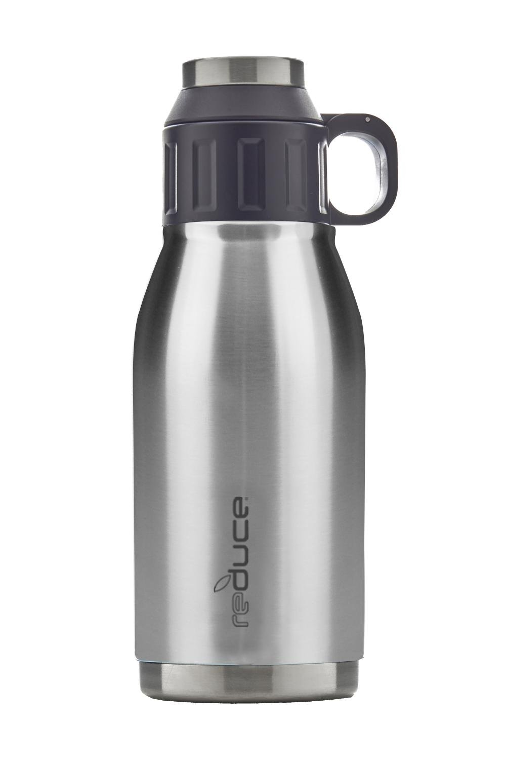 REDUCE Cold-1 Stainless Steel Insulated Canteen, 32oz (Stainless Steel)