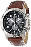 "Citizen Men's BL5250-02L ""Eco-Drive"" Leather and Titanium Watch by Citizen"