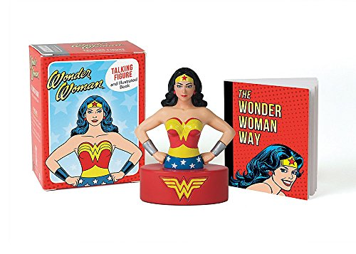 Wonder Woman Talking Figure and Illustrated Book (Miniature (1 Wonder Woman Action Figure)