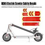 Tuankayuk-Adesivi-Riflettenti-Monopattino-Adesivi-Accessori-per-Skateboard-Scooter-Elettrico-M365-Set-Adesivi-Riflettenti-per-Strisce-Riflettenti-di-Sicurezza-Notturna