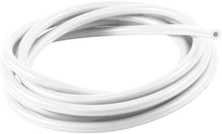 7mm ID White 10 Metre Length Silicone Vacuum Hose AutoSiliconeHoses
