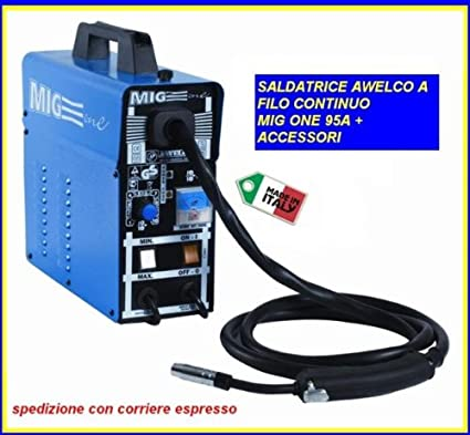 Equipo de GAS NO Hilo Mig compacto Awelco-Mig/One Mini: Amazon.es ...