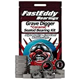Traxxas Grave Digger Ceramic Rubber Sealed Ball Bearing Kit for RC Cars