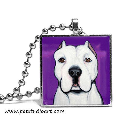 Pet Studio Art Artemis The Pit Bull Necklace