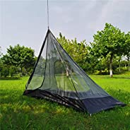 Ultralight Half Mesh Tent for Tipi Hot Tent 1-2 Person Mesh Camping