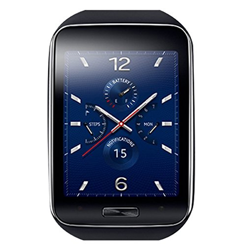 Click to buy Samsung Galaxy Gear S R750W Smart Watch With Curved Super Amoled Display (Black) - From only $209