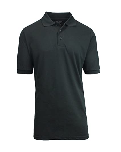 ad763cee Galaxy by Harvic Short Sleeve Polo Shirts - Boys School Uniform-Cotton/Polyester  -. Roll over image to ...