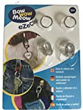 Bow Wow Meow eZeClip Pet Tag eZe Clip Double Pack for Easy attaching and Removal of pet Tags