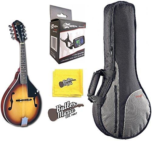 Oscar Schmidt OM10 ''A'' Style Bluegrass Mandolin w/Gig Bag and More by Oscar Schmidt