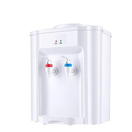 HBBenz Mini Dispensador De Agua De Escritorio Caliente/Frío Superior De Carga De Agua Encimera
