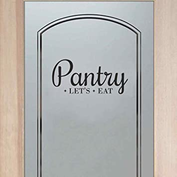 Amazon.com: BATTOO Pantry Decal   Pantry Door Decal   Pantry Wall Decal    Kitchen Decor   Pantry Sign   Kitchen Pantry   Kitchen D¨¦cor(Black, ...