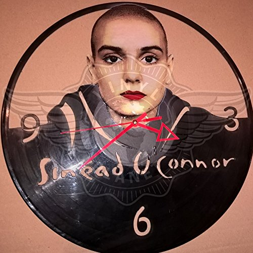 DIY SINEAD O CONNOR Decorative Designed Modern Vinyl Record Wall Clock Silent Large New Bedroom Livingroom Office Decore Analog Universal Decorate your home Best gift for friends