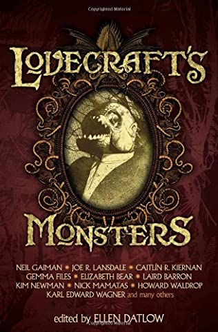 book cover of Lovecraft\'s Monsters
