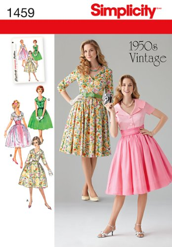 50s style dress sewing patterns - 2