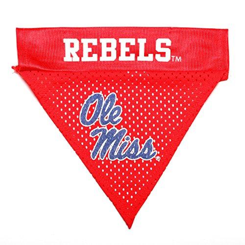 Rebel Bandana (Pet Goods NCAA Mississippi Ole Miss Rebels Collar Bandana, One Size)