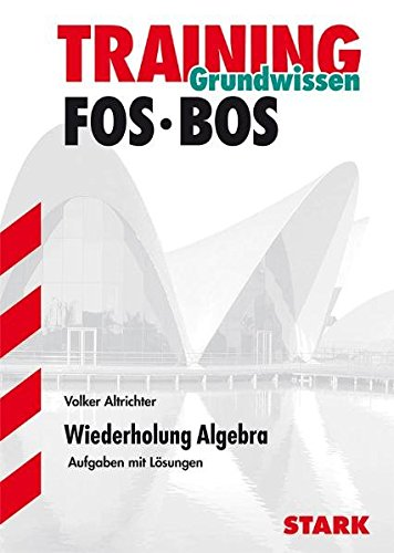 Abitur-Training FOS/BOS - Mathematik Wiederholung Algebra
