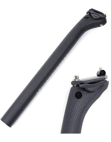 Ergotec tija de sillín aluminio vela Ø 27.2 l 300 mm negro