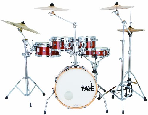 Rack Tom Birch Shell - Taye Drums GoKit GK518F-AH 5-Piece Drum Set