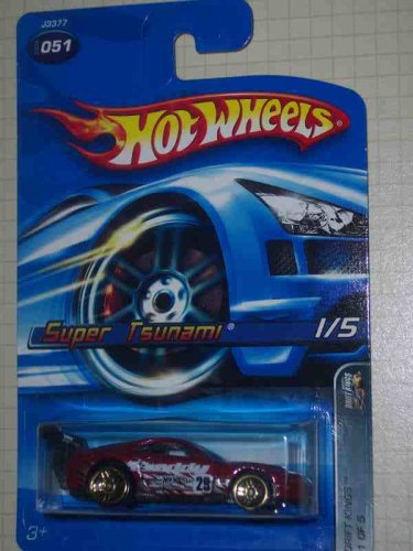Drift Kings Series #1 Super Tsunami Without Rear Tampos #2006-51 Collectible Collector Car Mattel Hot Wheels 1:64 Scale
