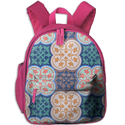 Dimensions Glass Tile Mosaics (Mosaic Art Lightweight Bookbag Baby Kids Backpack Outdoor Daypack 12.5