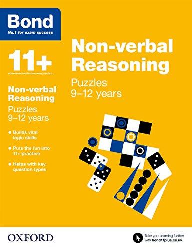 Bond 11+: Non Verbal Reasoning: Puzzles