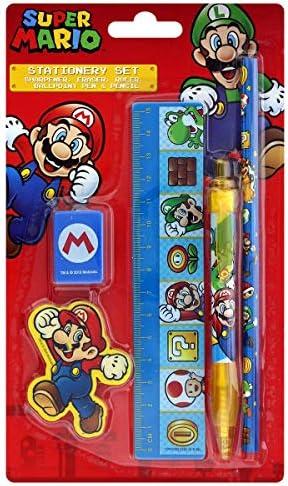 Set di cancelleria Super Mario
