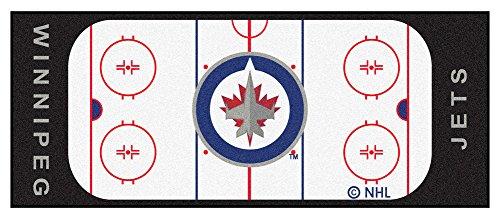 Jet Rink (Winnipeg Jets Rink 30 x 72 Field Runner - Winnipeg Jets Home Decor)