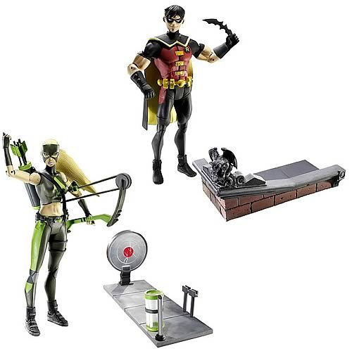 young justice action figures set - 4