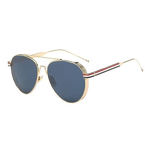 Hombre Mujer Al Aire Libre Marco De Metal UV400 Aviador Gafas De Sol Gafas