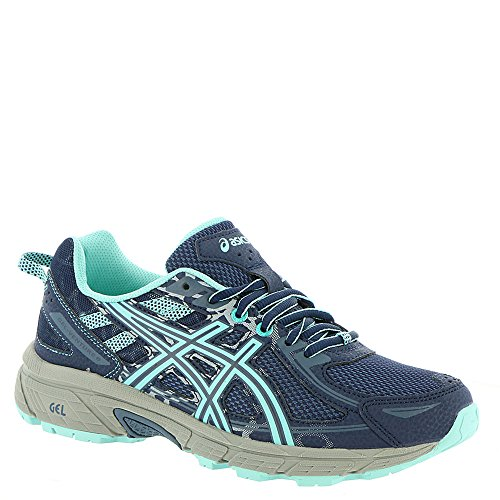 ASICS Kids Girl's Gel-Venture 6 GS (Little Kid/Big Kid) Indigo Blue/Aruba Blue/Mid Grey 2 M US Little Kid