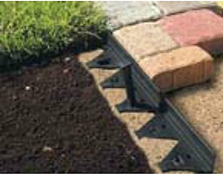 Master Mark Plastics 47208 8 Blk Paver Edger Garden Border Edging Amazon Com
